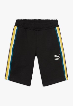 PUMA X ZALANDO TAPE - Sports shorts - black
