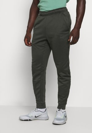 PANT TAPER - Tracksuit bottoms - sequoia/black