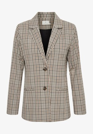 KAJESLA  - Short coat - black/thrush/check
