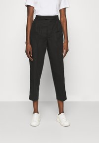 Hope - ALTA TROUSERS - Trousers - washed black - 0