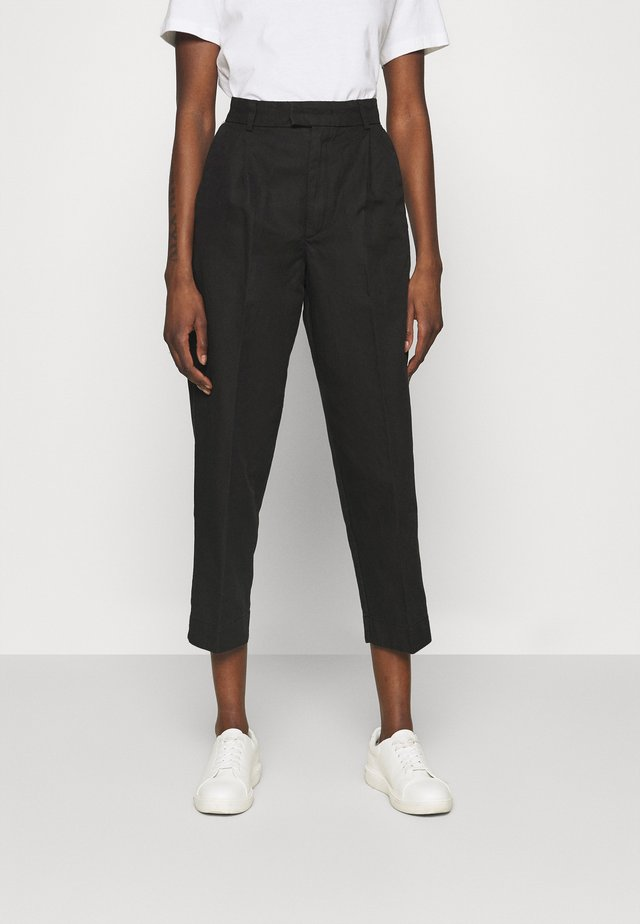 ALTA TROUSERS - Bukse - washed black