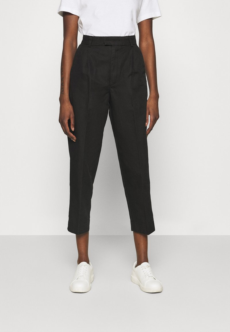 Hope - ALTA TROUSERS - Trousers - washed black