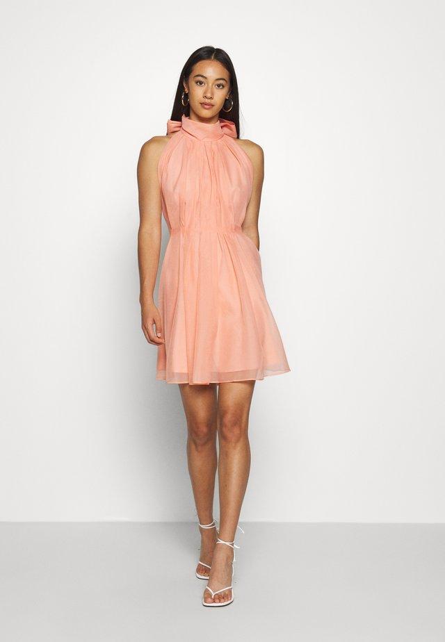 YASLONDON HALTERNECK DRESS SHOW - Cocktail dress / Party dress - cantaloupe