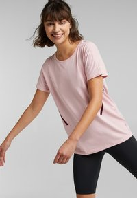 Esprit Sports - Print T-shirt - light pink - 3