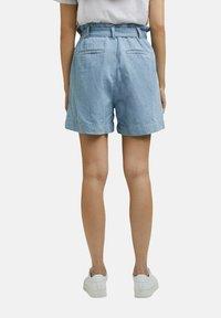 Esprit - Denim shorts - blue light washed - 6