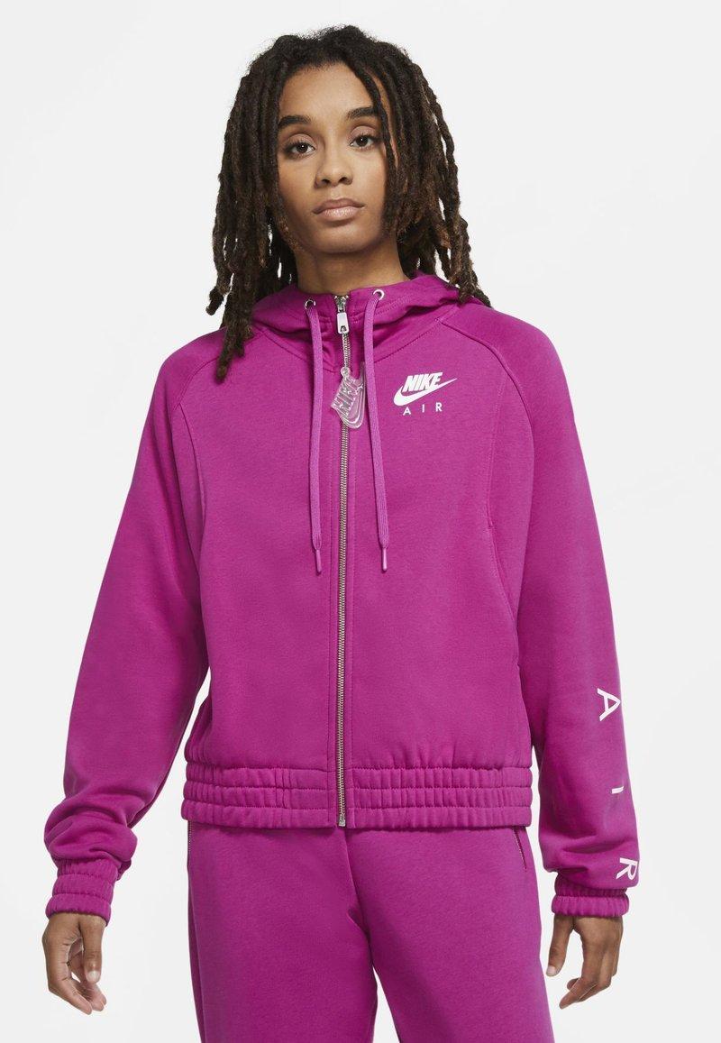 Nike Sportswear - Zip-up hoodie - cactus flower/white