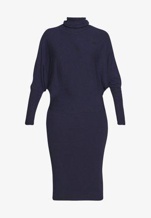 BASIC STRICKKLEID - Abito in maglia - dark blue