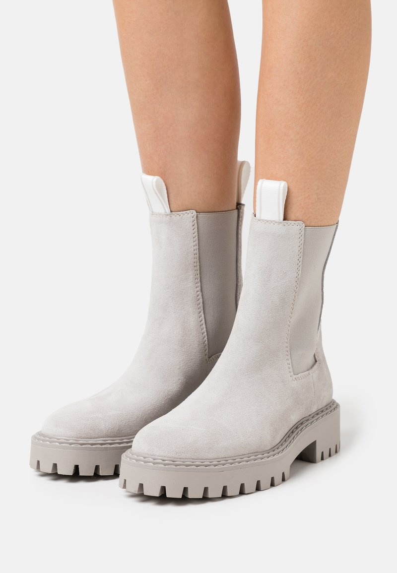 LÄST - DAZE - Classic ankle boots - light grey