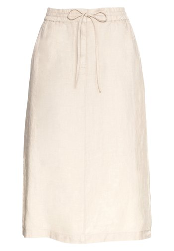 A-line skirt - summer taupe