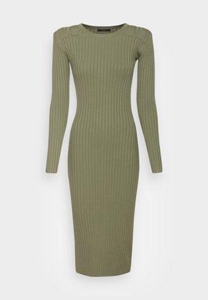 FLORINDA DRESS - Jersey dress - lichen leaf green