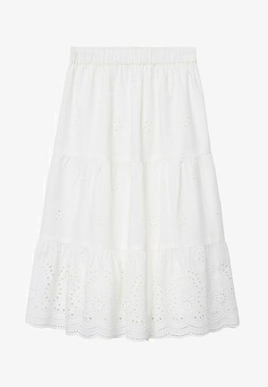 Áčková sukně - blanc cassé