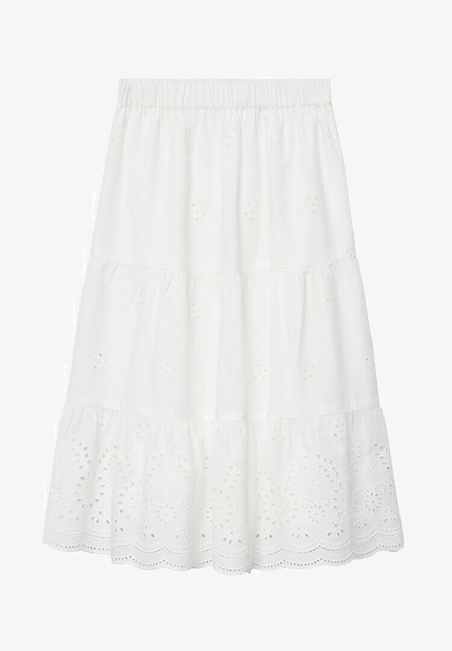 A-line skirt - blanc cassé