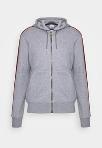 Paul Smith - GENTS ZIP THROUGH TAPED SEAMS HOODY - Sweater met rits - mottled grey - 4