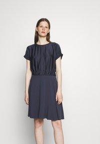 HUGO - NAMASTIA - Day dress - dark blue - 0