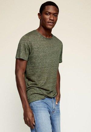 REGULAR FIT - T-shirt - bas - grün