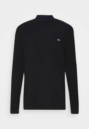 TJM HIGH MOCK UNISEX - Jumper - black