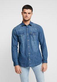 Only & Sons - Shirt - medium blue denim - 0