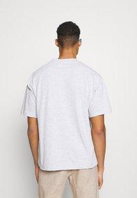 Jaded London - WYOMING - Camiseta estampada - grey marl - 2