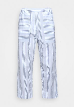 KAII SHIRT PANTS - Trousers - blue