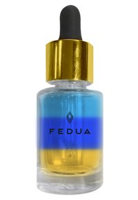 Fedua - RAINBOW OIL - Nail treatment - 0058 blue/yellow/transparent - 0