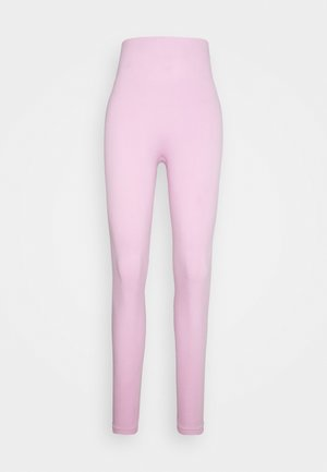SEAMLESS 7/8 - Trikoot - light arctic pink/white
