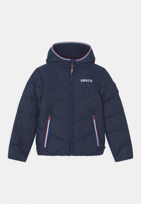 Levi's® - MIX MEDIA PUFFER - Winter jacket - dress blues - 0