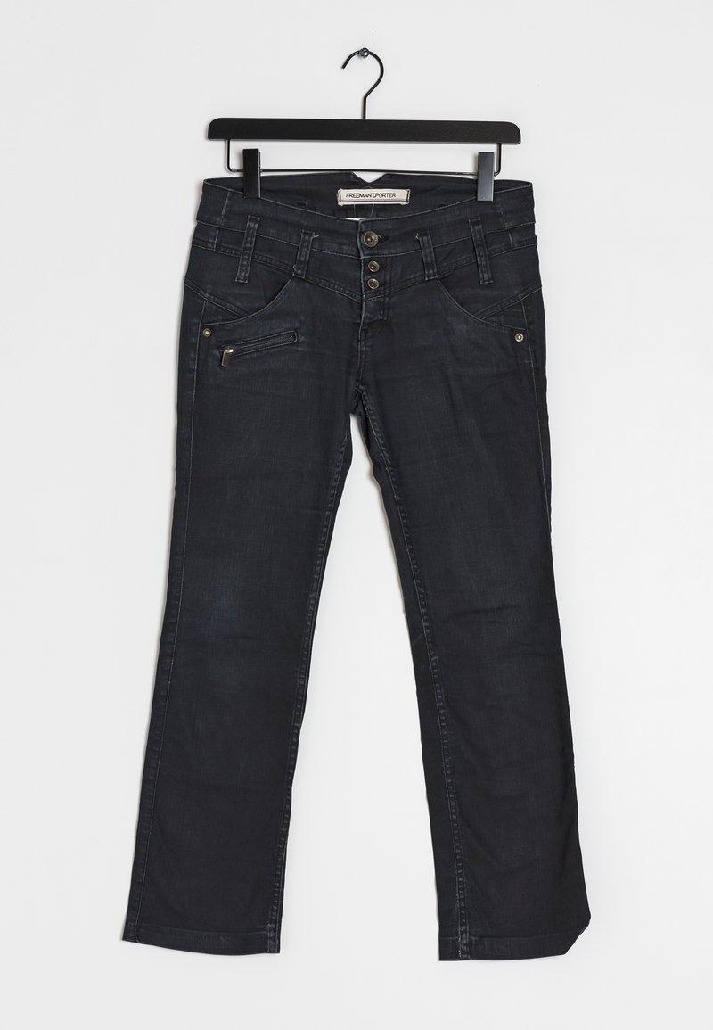 Freeman T. Porter - Straight leg jeans - black