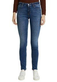 Esprit - FASHION  - Slim fit jeans - blue medium washed - 5