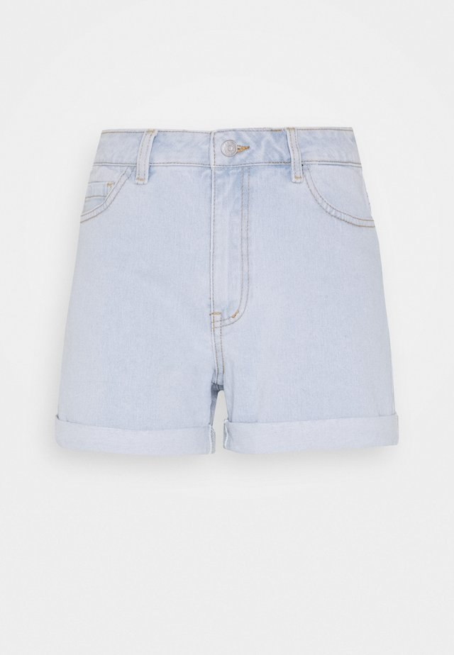OBJSTACEY ANNA - Denim shorts - light blue denim