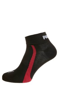 Puma - 3 PACK - Socks - black/white/red - 1