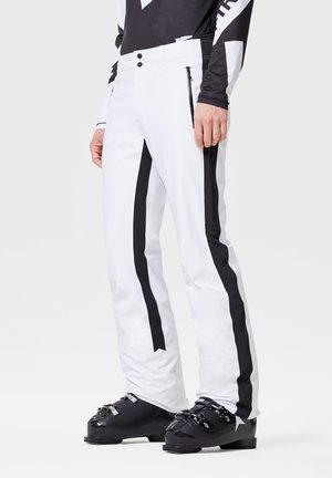 Snow pants - weiß schwarz
