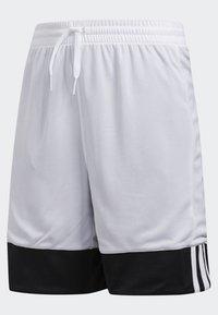 adidas Performance - 3G SPEED REVERSIBLE SHORTS - Sports shorts - black/white - 3