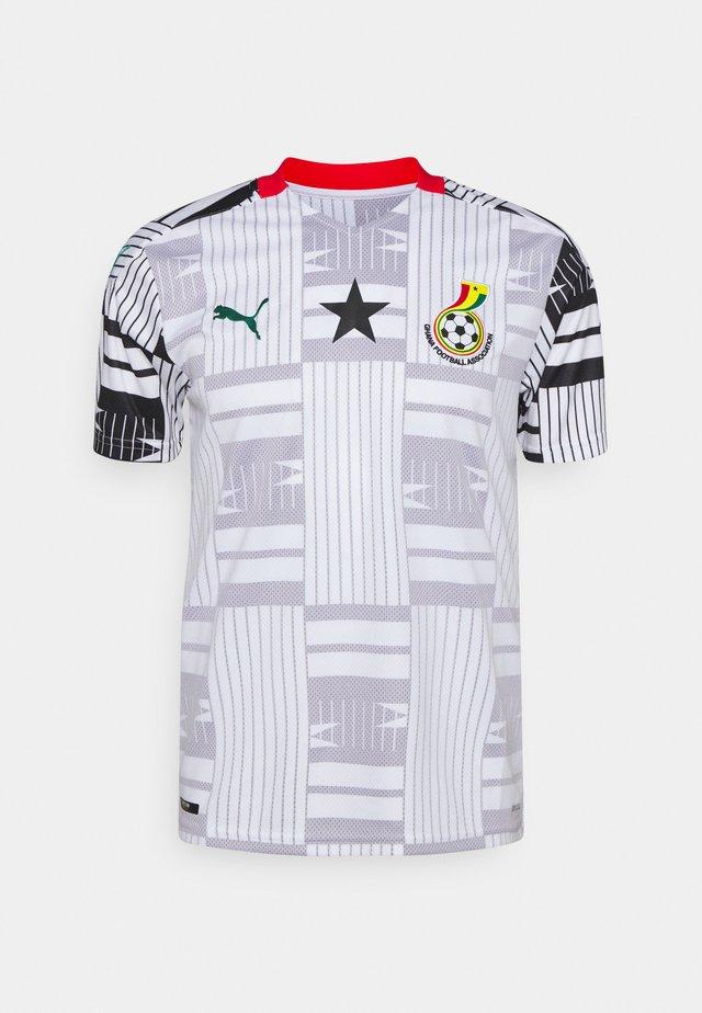 GHANA GFA HOME  - Club wear - white/black