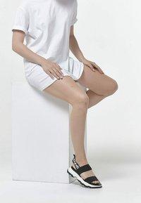 Betsy - Sandals - black  white - 0