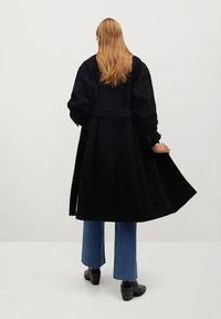 Mango - TRINI - Classic coat - schwarz - 2