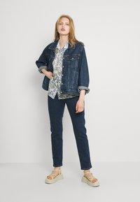 Levi's® - 501 CROP - Jeans a sigaretta - salsa stonewash - 1