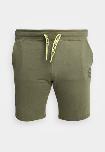Tracksuit bottoms - kalamata green