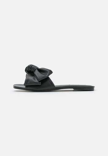 BOW FOR ME FLAT - Mules - black