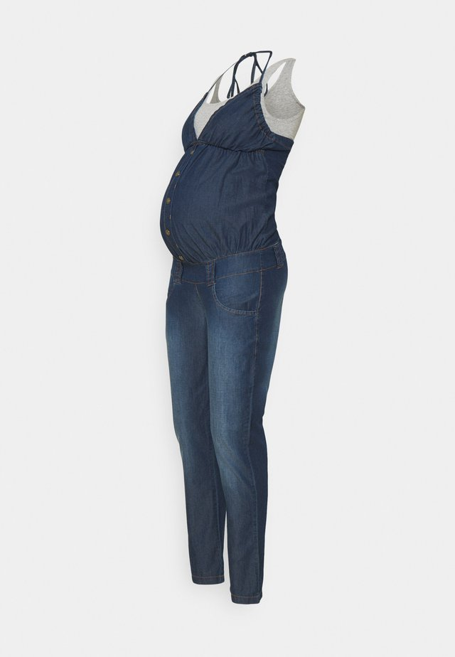 TINJE - Overall / Jumpsuit /Buksedragter - indigo