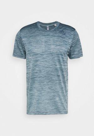 GRADIENT TEE - Basic T-shirt - sky tint melange