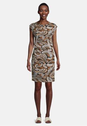Day dress - schwarz/braun