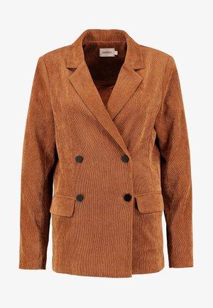 FRANSISKA - Blazer - tobacco brown