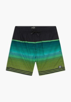 ALL DAY STRIPE BOY - Swimming shorts - black