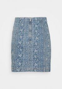 Free People - MODERN FEMME NOVELTY SKIRT - Mini skirt - indigo blue - 1