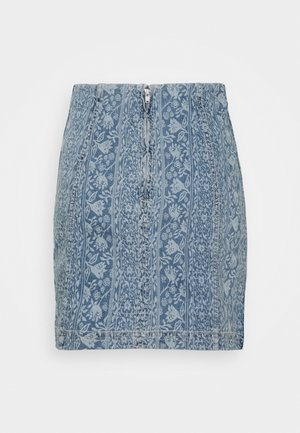 MODERN FEMME NOVELTY SKIRT - Mini skirt - indigo blue