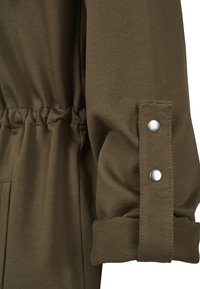 Urban Classics - LADIES TERRY  - Zip-up hoodie - olive - 3