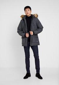 Cars Jeans - DEMSEY TASLON - Wintermantel - grey denim - 1