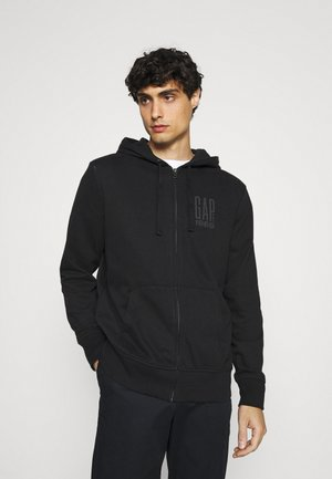 Zip-up hoodie - moonless night