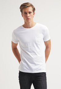 KnowledgeCotton Apparel - T-shirt - bas - offwhite - 0