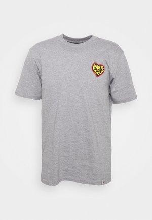 HARTT OF SOUL - T-shirt print - grey heather